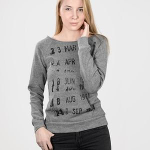 Out of print library stamp sweatshirt sz S